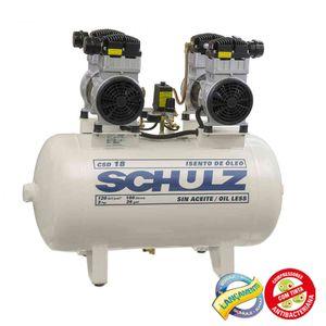 Compressor-de-Ar-Odonto-Isento-de-Oleo-220v-Ref-CSD18-100-SCHULZ