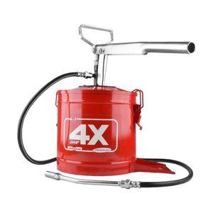 Engraxadeira-JHF-4x7Kg-Vermelha-Ref-8484-HYDRONLUBZ