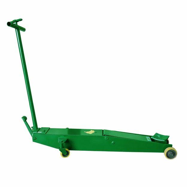 Macaco-Hidraulico-Jacare-Potente-30Ton-Longo-Roda-de-Polietileno-Ref-JAC-30L-PU-POTENTE-