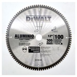 Lamina-Serra-Meia-Esquadria-12-Pol-100D-Aluminio---madeira-DWA03240-DEWALT