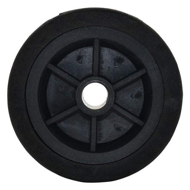 Roda-em-Polipropileno-4pol-x-9-16pol-Eixo-148mm-Preta-Ref-13-GSCAR