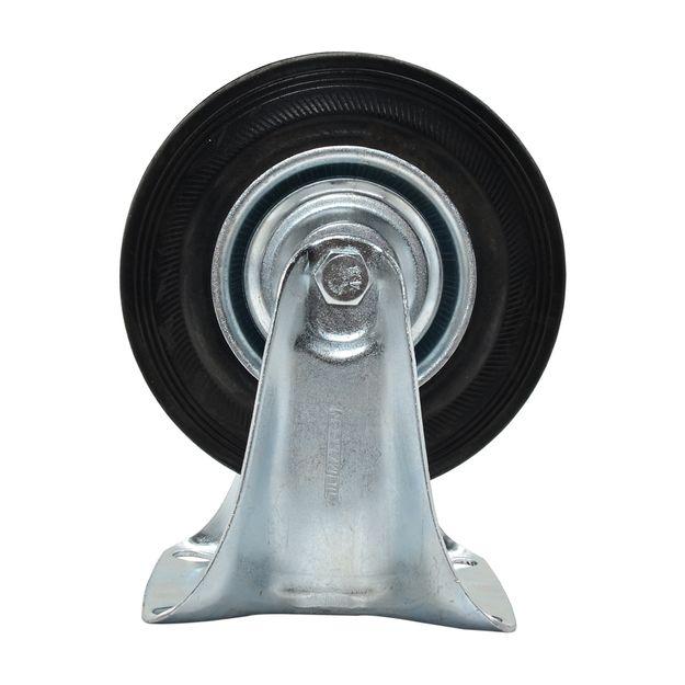 Rodizio-Fixo-5pol-com-Borracha-Preta-100Kg-Ref-RM85-MARCON