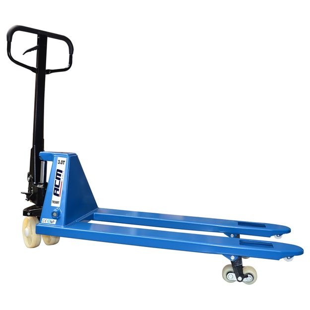Paleteira-Manual-30-Ton-roda-dupla-Nylon-estreito-TR30RT-Acm-Tools