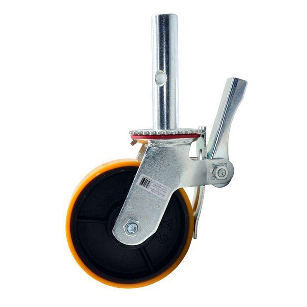 Rodizio-Giratorio-para-Andaime-6x2pol-com-Freio-e-Roda-de-Ferro-com-Poliuretano-GLEF62PFE-COLSON