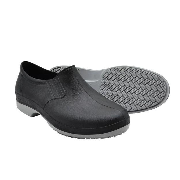 Sapato-Polimerico-preto-solado-bidensidade-preto-43-COB201-CARTOM