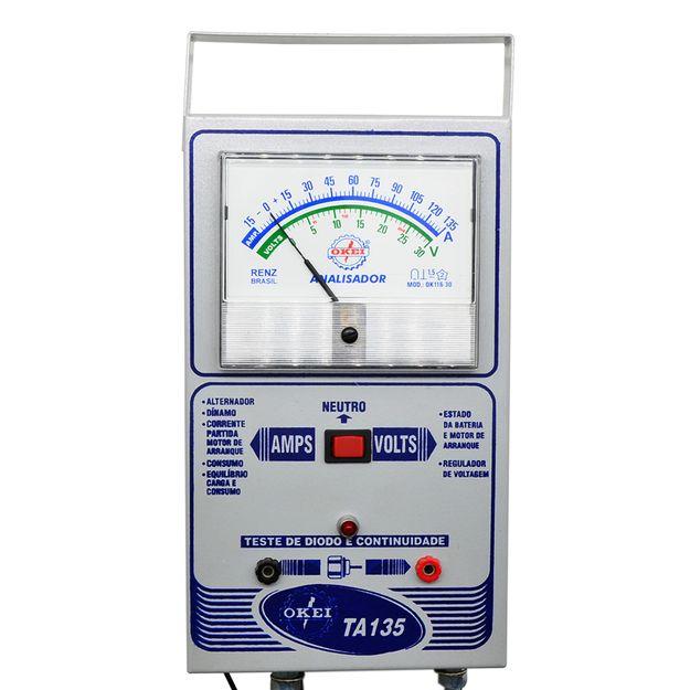 Teste-Analisador-Amperimetro-135a-Ta-135-Okei