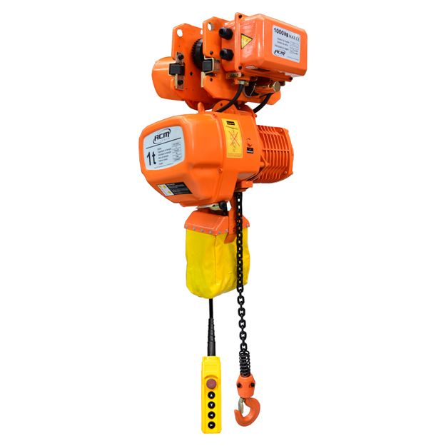 Talha-Eletrica-1-Ton-x-6Mts-com-troley-220v-CHT1000-6-Acm-Tools-