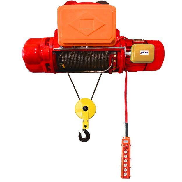 Talha-Eletrica-3Ton-x-18Mts-com-cabo-de-aco-Troley-Eletrico-220V-TECA-30000-18-ACM-TOOLS-