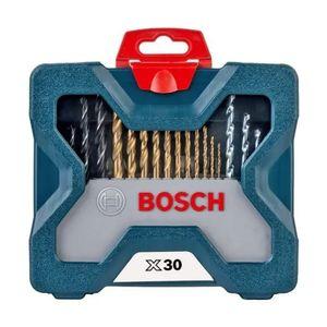Kit-de-Acessorios-Brocas-e-Bits-X-Line-com-30-pecas-com-Maleta-BOSCH