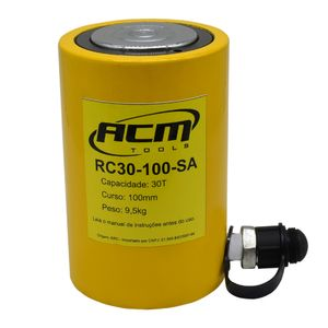Cilindro-Hidraulico-30-Ton-Simples-Acao-RC30100SA-ACM-TOOLS-