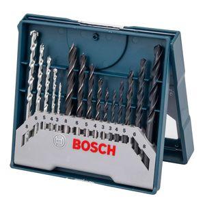 Kit-Brocas-para-Concreto-Metal-e-Madeira-com-15-pecas-Mini-X-Line-BOSCH